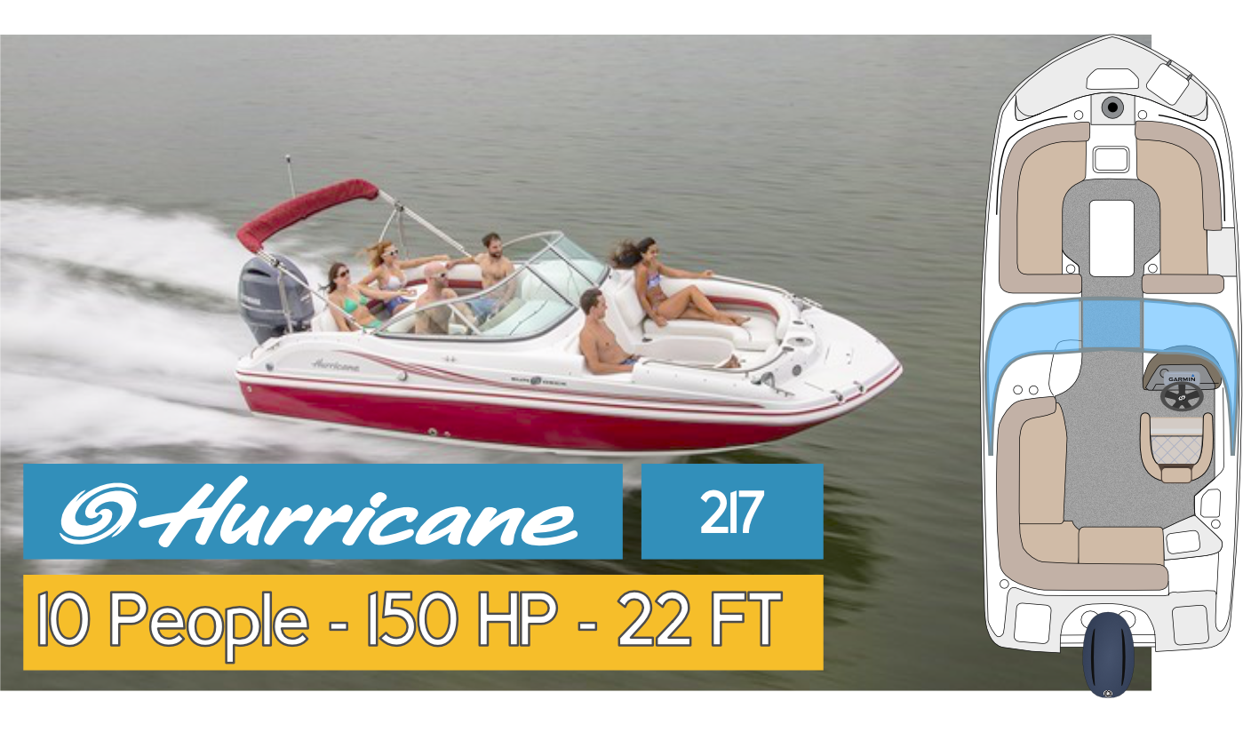 Boat Fleet Hurricane 211