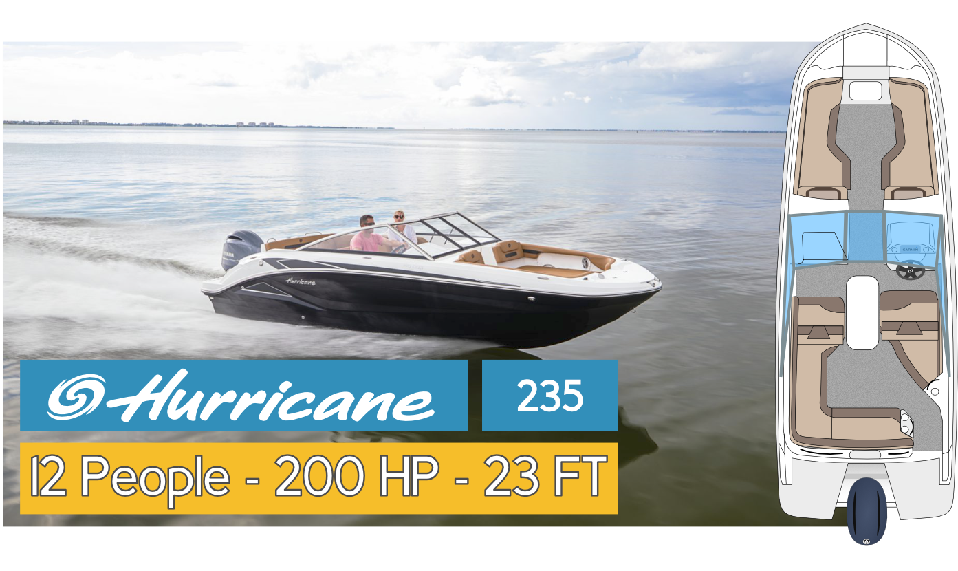 Boat Fleet Hurricane 22 SD