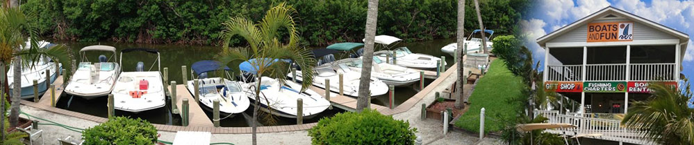 Boat Rental Fleet North Captiva